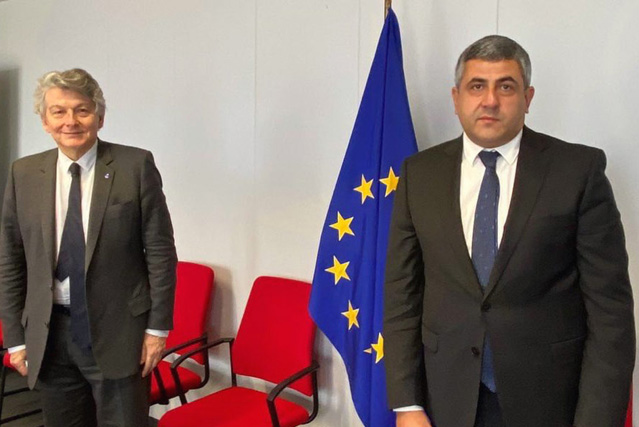 Delegation in Brussels for Talks with European Institution Leaders